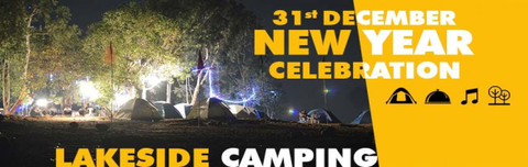 New Year Pawana Lakeside Camping, Kevre Pawna Lake, Pune, Maharashtra, India