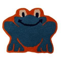 Door Mat Frog Toad Shape: Thick, Soft, Non-skid Floor Carpet Rug 10745a
