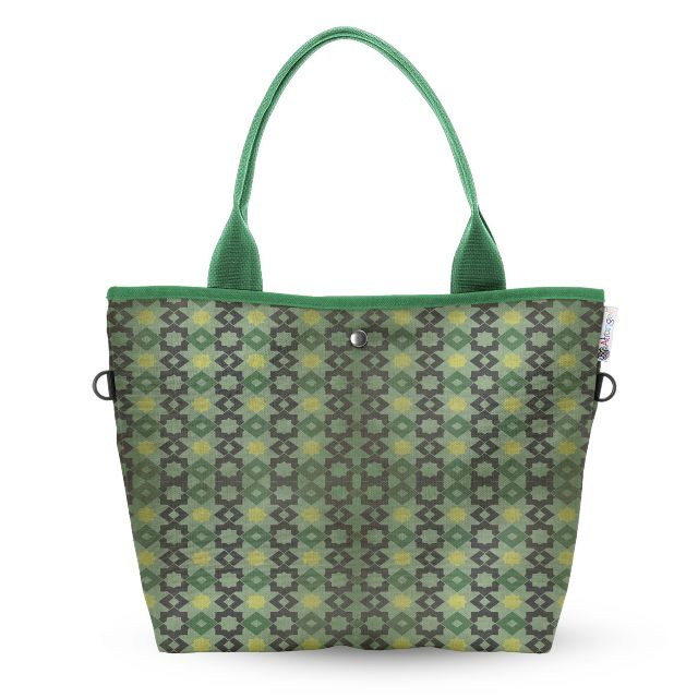 Moroccan Tile Wide Tote Bag