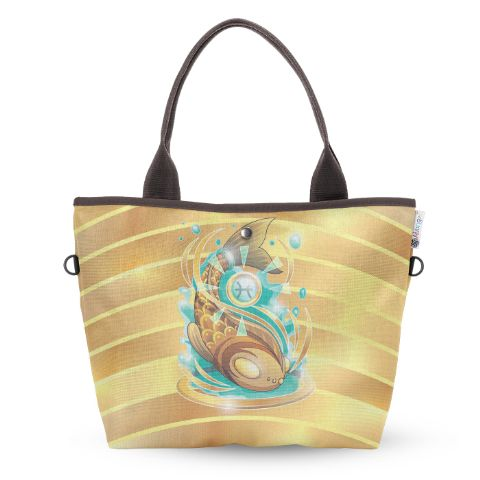 Pisces Wide Tote Bag