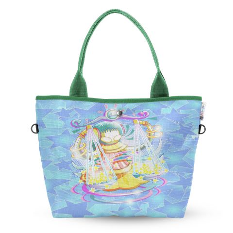Libra Wide Tote Bag
