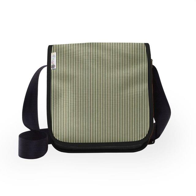 Vertical Trace City Sling Bag