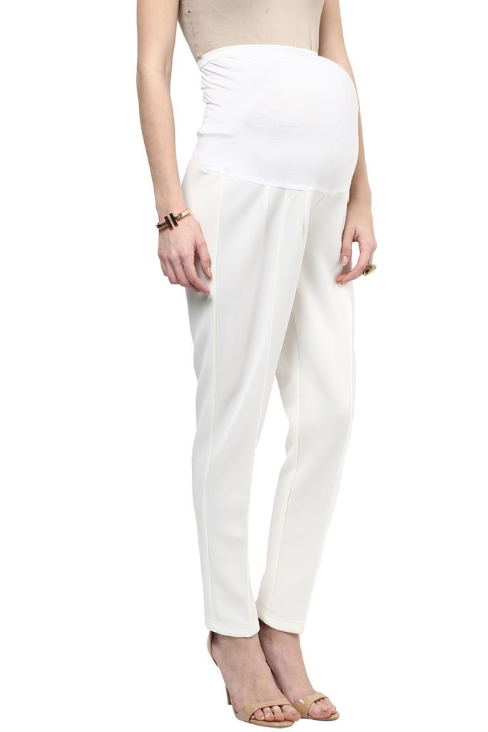 Express Work Wear White Pants