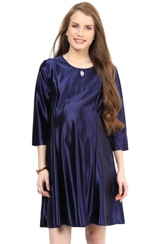 Magic the Blue Maternity Dress