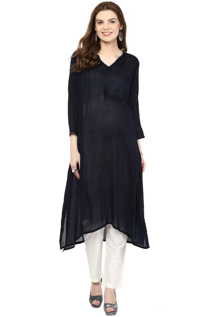 The Kurta Super Black
