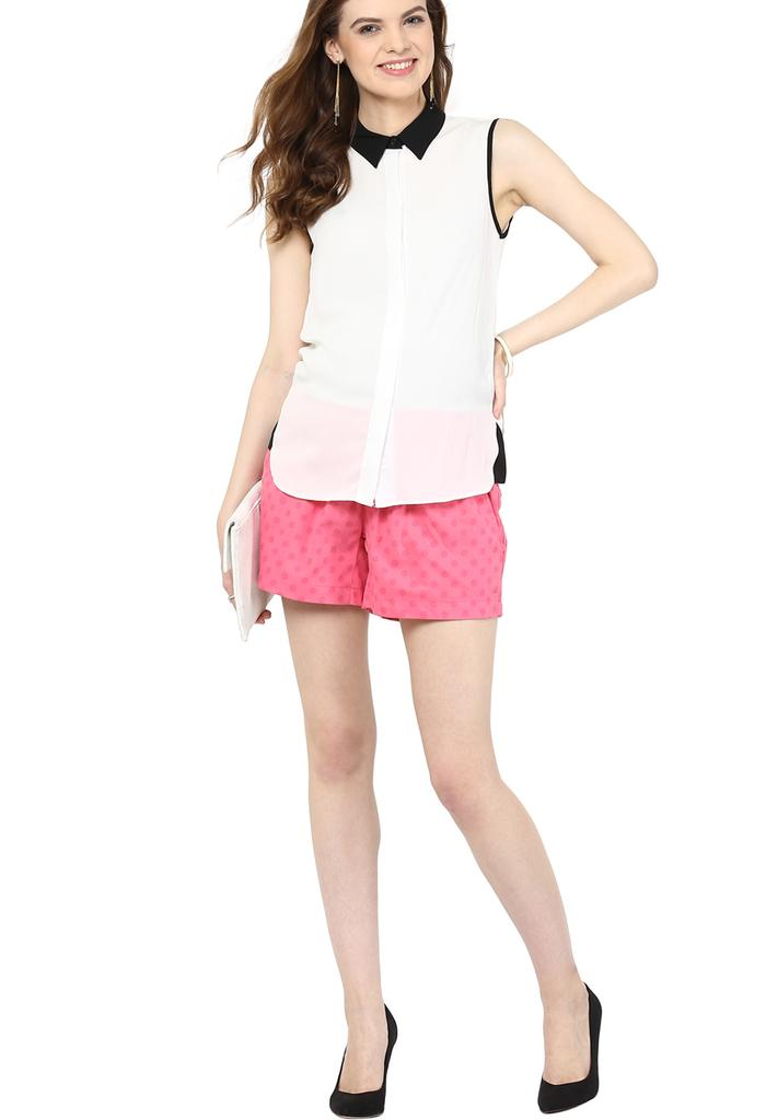 The Pink Dot Maternity Shorts