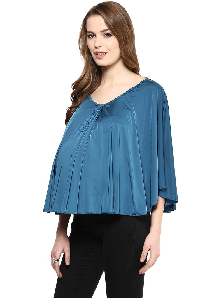 The Teal Maternity Cape