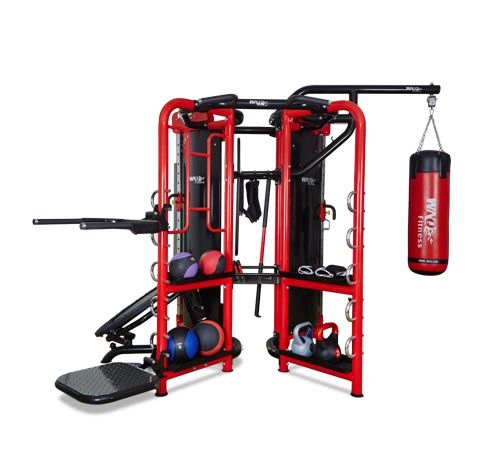 A8001 7 Station  Crossfit Cage