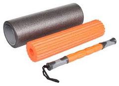 LivePro-BURN Yoga Foam Roller Set - 3 in 1 Set