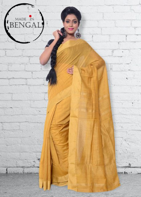 Simple Mercerised Cotton Saree