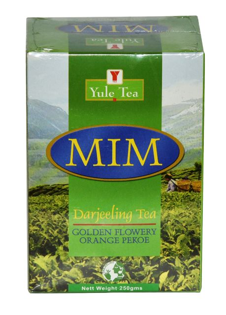 Yule MIM Darjeeling Golden Flowery Orange Pekoe Tea : 250gms