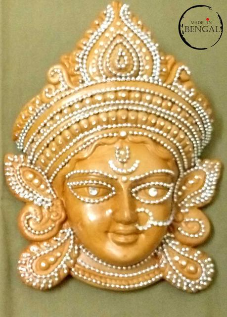 Terracotta Durga Mask (medium)