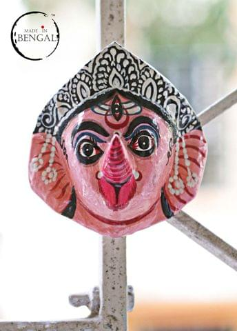 Miniature Chhau Mask Magnets : Ganesh