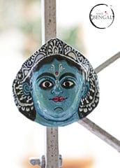Miniature Chhau Mask Magnets : Karthik