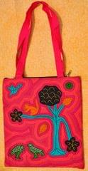 KANTHA STITCHED BAG