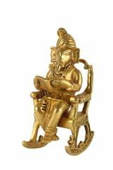 Ganesh in a rocking chair