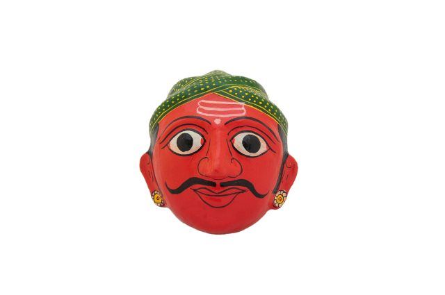 Man and Woman Pair  Mask - Red