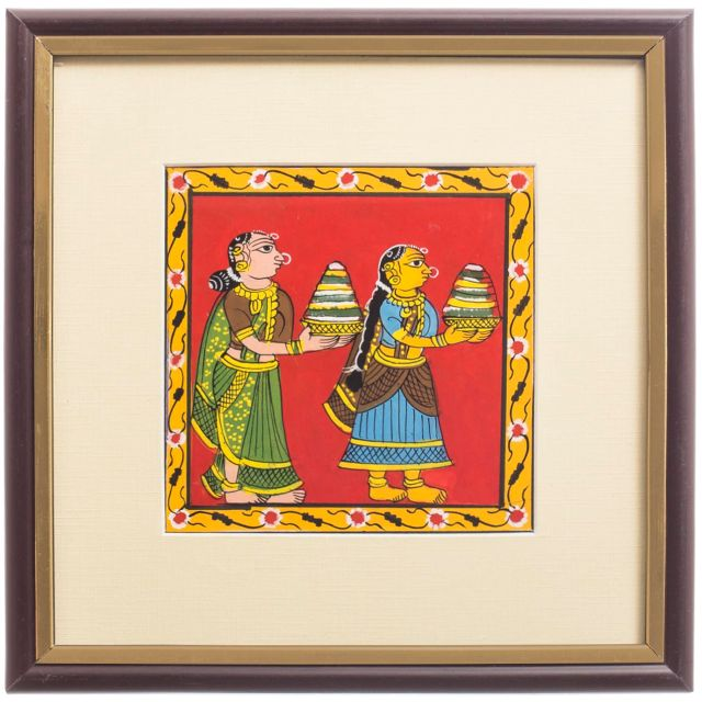 Bathukamma Festival- Cheriyal Scroll Painting