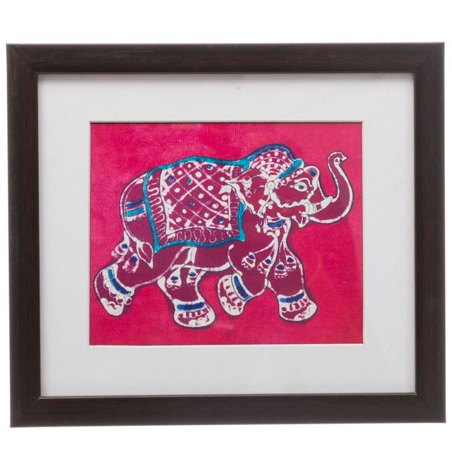 Elephant Bathik Painting - Replica