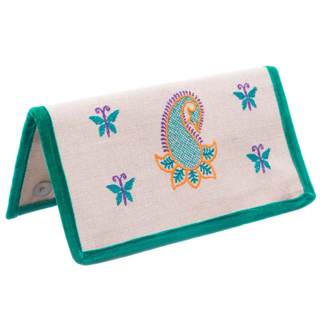 Jookie Clutch with Embroidery