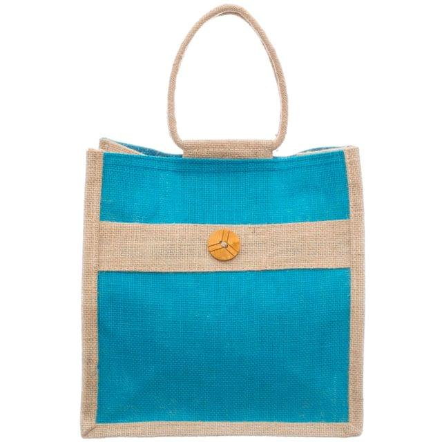 Lunch Bag - Regular with Button and Rope Handle