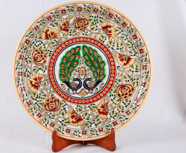 Decorative plate - with stand