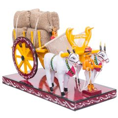 Bullock Cart Red - Big