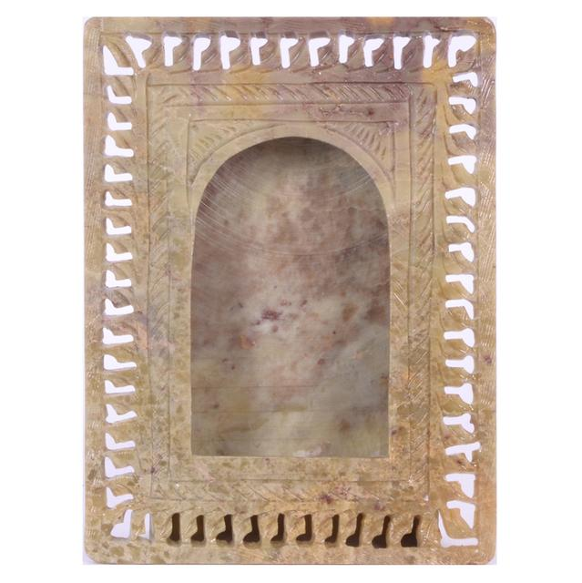 Soap Stone Carved Photo Frame 6x4 inch