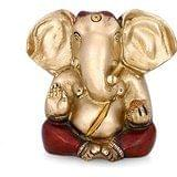 Collectible India Long ear Ganesha Brass Idol Hindu Success God Ganesh Statue...