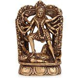Collectible India Maa Kali Brass Idol Hindu Goddess Religious Devi Kali Maa S...