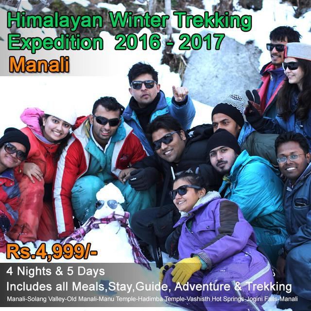 Manali Winter Trekking