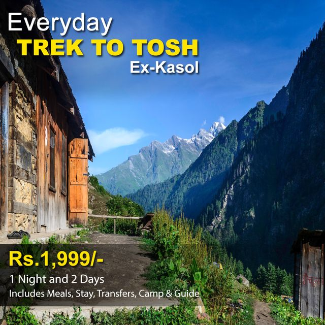 Trek to Tosh - 1 Night & 2 Days