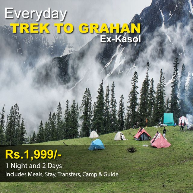 Trek to Grahan - 1 Night & 2 Days
