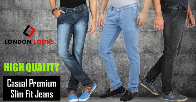 New Arrival Combo Of 3  Men's Denim Casual Jeans