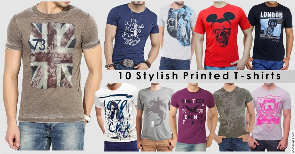 London Looks Special OFFER of 10 T-Shirts