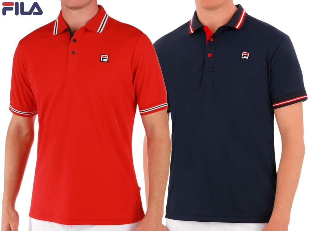 Branded Fila Polo T-Shirts (Pack Of 2)