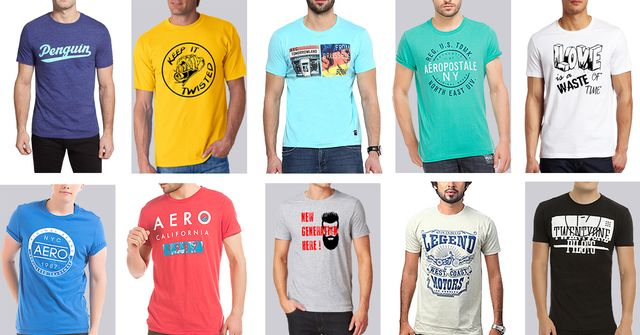 London Looks Mixture Of 10 Printed T-Shirts !