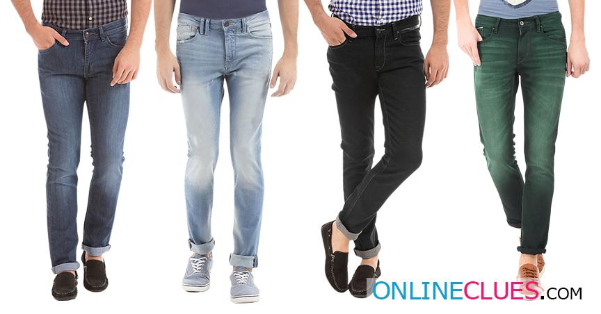 London Looks Brand Men's 4 Combo of Standard-Fit Denim Jeans
