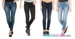 London Looks Brand Women's 4 Combo Of Standard-Fit Denim Jeans