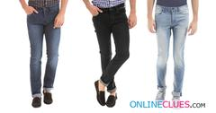 London Looks Branded Men's 3 Combo Of Skinny-Fit Denim Jeans !