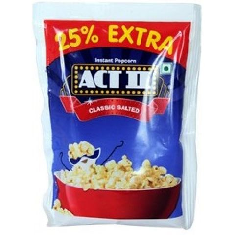 ACT II Classic salted Popcorn 90 gm