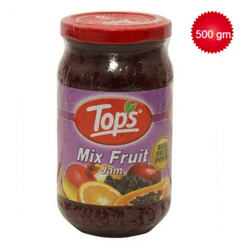 Tops Jam - Mix Fruit 500 gm