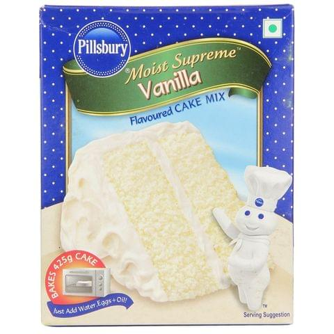 Pillsbury Cake Mix - Moist Supreme Vanilla 225 gm