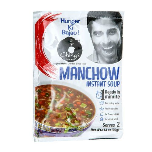 Chings Manchow Instant Soup, 30 gm