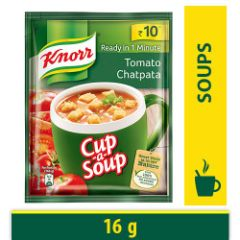Knorr Instant Tomato Chatpata Cup-A-Soup, 16 g Pouch
