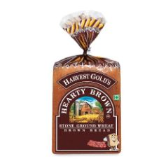 Harvest Gold Bread - Hearty Brown, 400 gm Pouch