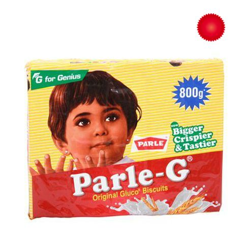Parle Gluco Biscuits - Parle-G, 800 gm Pouch