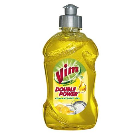 Vim Dishwash Gel, Lime(Yellow), 250 ml