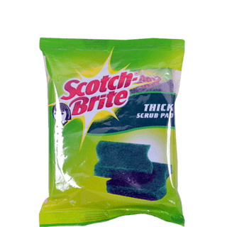 Scotch Brite Thick Scrub Pad