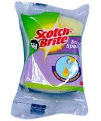 Scotch Brite Scrub Sponge 10 x 6 cm 1 pc